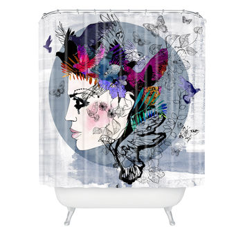 Holly Sharpe Estrella Shower Curtain