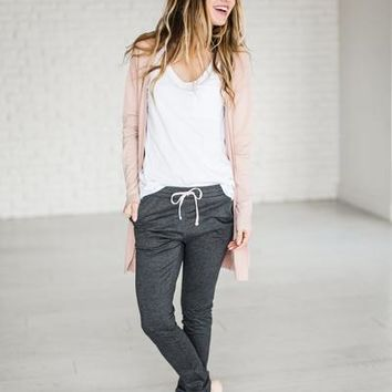 Dusty Pink Cardigan