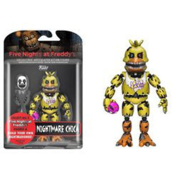 FIVE NIGHTS AT FREDDY'S - NIGHTMARE CHICA ACTION FIGURE