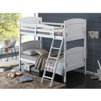 Broyhill Kids Nantucket Twin-Over-Twin Bunk Bed, White - Walmart.com
