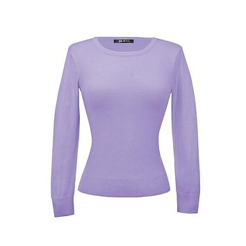 MAK Pullover Sweaters in Lilac