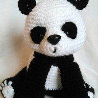 Panda Bear; CROCHET PATTERN; PDF
