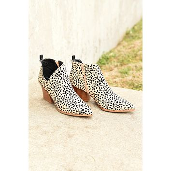 Wild About You Booties - Cheetah