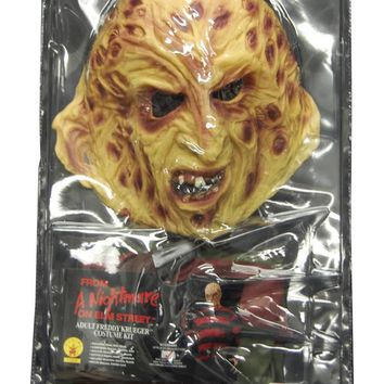 Freddy Krueger Blister Adult Horror Nightmare on elm street 2017