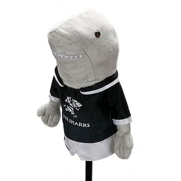 NEW golf clubs driver headcover Dustproof protect Golf Club Head Cover Funny Cartoon Shark  Headcover