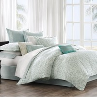 Mykonos Sea Breeze Aqua Comforter Set