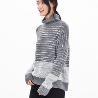 Banana Republic Heritage Textured Turtleneck Pullover