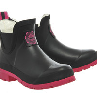 Joules Wellibob Black Pink - Ankle Boots