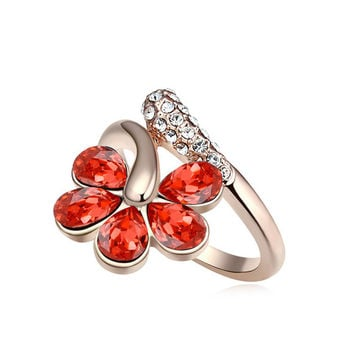 Jewelry Shiny Gift Stylish New Arrival Crystal Ring [4989649540]