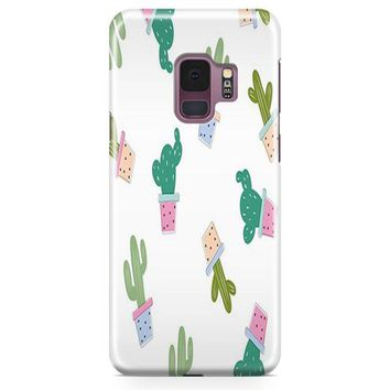 Cactus Paintful Samsung Galaxy S9 Case | Casefantasy