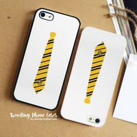 Hufflepuff Tie iPhone Case Cover for iPhone 6 6 Plus 5s 5 5c 4s 4 Case