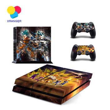 Dragon Ball PS4 Sticker For Playstation 4+ 2Pcs Controller Skin Console Stickers PS4 Protective Skin ZY-0052