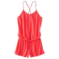 Xhilaration® Junior's Romper Swim Coverup -Assorted Colors