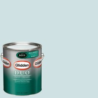 Glidden DUO 1-gal. #GLB13-01F Tropical Surf Eggshell Interior Paint with Primer-GLB13-01E at The Home Depot