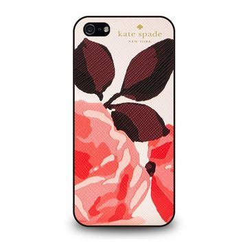 KATE SPADE CAMEROON STREET ROSES iPhone 5 / 5S / SE Case