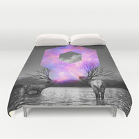 Made of Star Stuff Duvet Cover by Soaring Anchor Designs