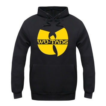 Spring 2016 Fashion Autumn&Winter Wu Tang ClanHoodies Batman Hip Hop MenCasual Sweatshirts Male Track Suits Outwear