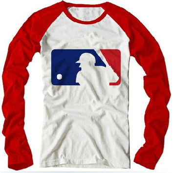 Cute Unisex MLB Baseball Tee