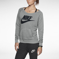 Nike Rally Women's Sweatshirt - Dark Grey Heather