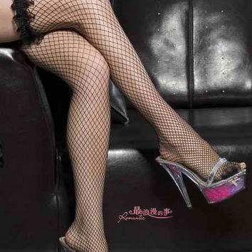 Hot Deal On Sale Cute Sexy Lingerie Black Socks Elastic Exotic Lingerie [6596790851]