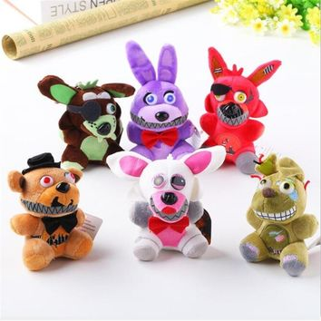 25 CM Newest Cute Anime  Five Night At Freddy Plush Toys Doll Stuffed Toys Freddy Toys For Children Juguetes Gifts