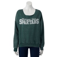 Michigan State Spartans Burnout Fleece Sweatshirt