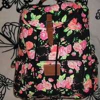 Victoria's Secret Pink: Floral Backpack