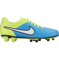 Nike Women's Tiempo Rio II FG Soccer Cleats - Blue/Volt | DICK'S Sporting Goods