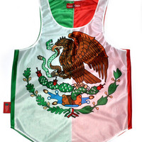 Mexico Flag Tank Top