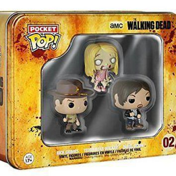 Funko Pocket Pop: The Walking Dead Tin 3-Pack