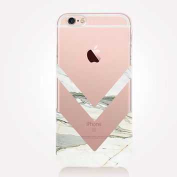 Transparent Marble Phone Case- Transparent Case - Clear Case - Transparent iPhone 6 - Transparent iPhone 5 - Transparent iPhone 4