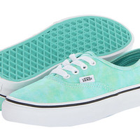Vans Kids Authentic (Little Kid/Big Kid) (Sparkle) Mint - Zappos.com Free Shipping BOTH Ways