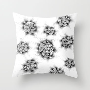 Knotty Throw Pillow by DuckyB (Brandi)