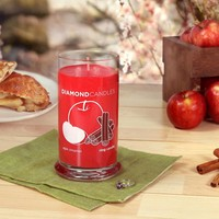 Apple Cinnamon Ring Candle
