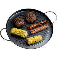 Evelots Smokeless Indoor Stovetop Barbecue Grill, Non-Stick Surface, Black