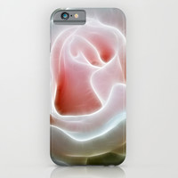 Pink Rose iPhone & iPod Case by Alice Gosling