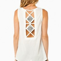 HALONA TANK IN OFF WHITE
