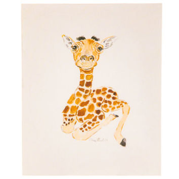 Baby Giraffe Wood Wall Decor | Hobby Lobby | 5873518