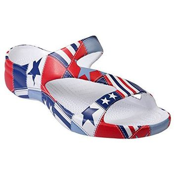 DAWGS Womens Arch Support Loudmouth Z Sandals