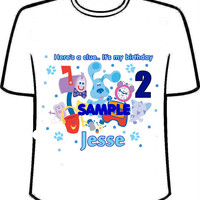 Blue Clues Personalized Shirt (limited offer)