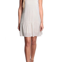 Leigh Linen Drop Waist Dress-FINAL SALE