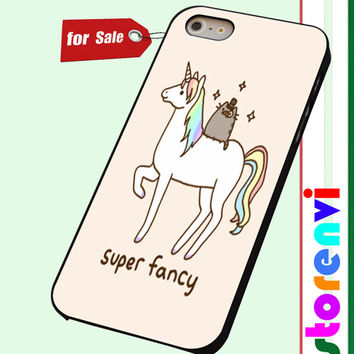 Pusheen Cat With Unicorn custom case for smartphone case