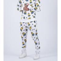 Criminal Damage - Takeover Joggers - Minion Collaboration - White