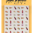 FOOD LOVERS DELIGHT NAIL DECALS