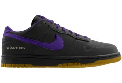 Nike Dunk Low Nfl Baltimore Ravens Id From Nike Epic