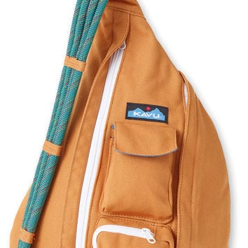Monogrammed Kavu Rope Bags - Gold - Great gift for College, Teens, Women, Outdoors Satchel Crossbody Tote
