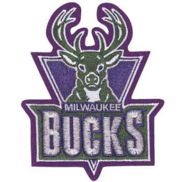 NBA Logo Patch - Milwaukee Bucks