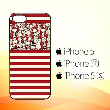 SNOOPY PEANUTS W4470  iPhone 5|5S|SE Case