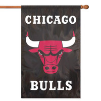 Chicago Bulls NBA Applique Banner Flag (44x28)