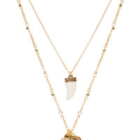 Courage Necklace - Gold